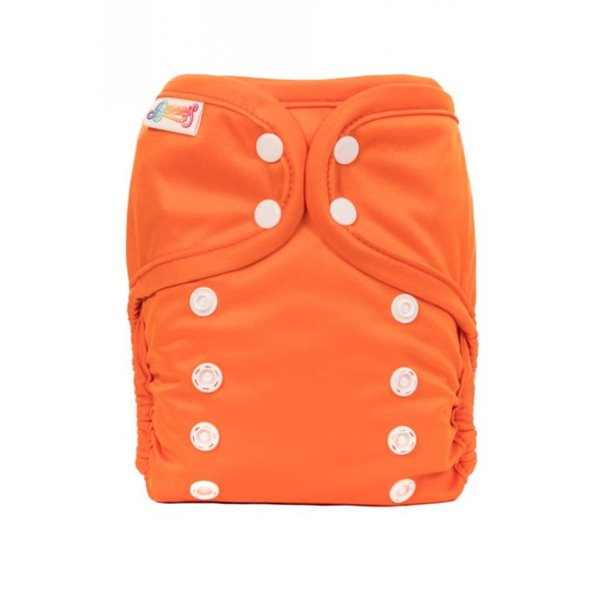 Pure Tout en un Orange Boutons Pression